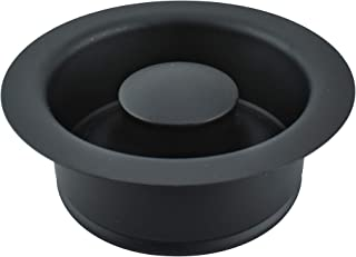 Keeney Manufacturing K5417BLK Garbage Disposal Flange and Stopper, Black
