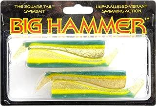 Big Hammer Swimbait, Sexy Smelt, 4-Inch