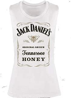 Jack Daniel's Ladies Ivory Sleeveless Tennessee Honey T-Shirt