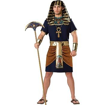In Character Costumes - Disfraz de faraón para hombre, talla L ...