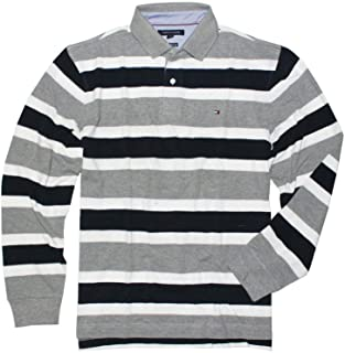 Tommy Hilfiger Men's Long Sleeve Polo Shirt in Classic Fit