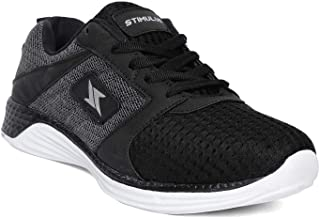 PARAGON Men's Stimulus Black Casual Shoes