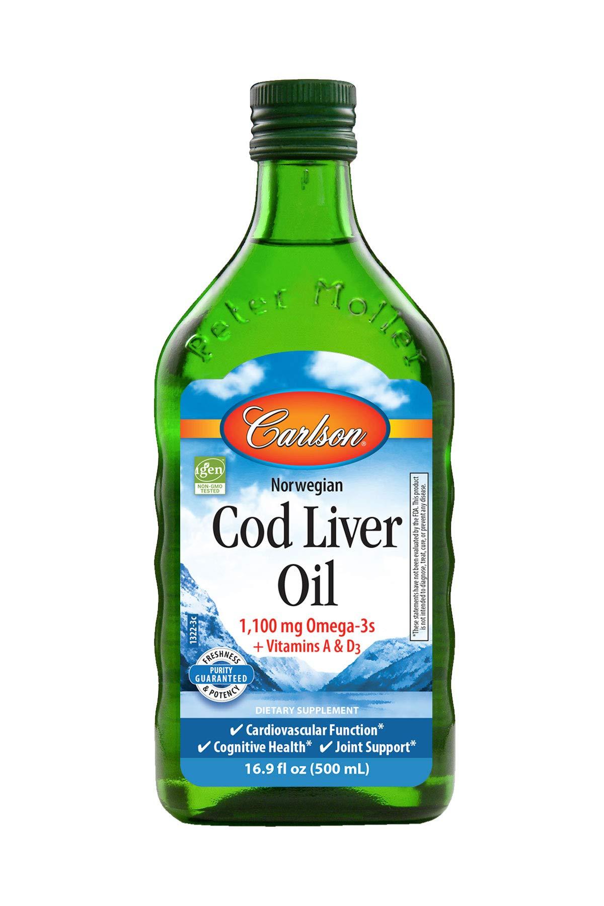 Carlson Liver Norwegian Natural Omega 3s
