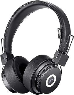 Bluetooth Headphones On Ear, Hi-Fi Stereo Foldable Over-Ear Headset with Microphone, APP to Control Headphones, Soft Earmu...