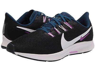 Nike Air Zoom Pegasus 36 (Black/Summit White/Valerian Blue) Women