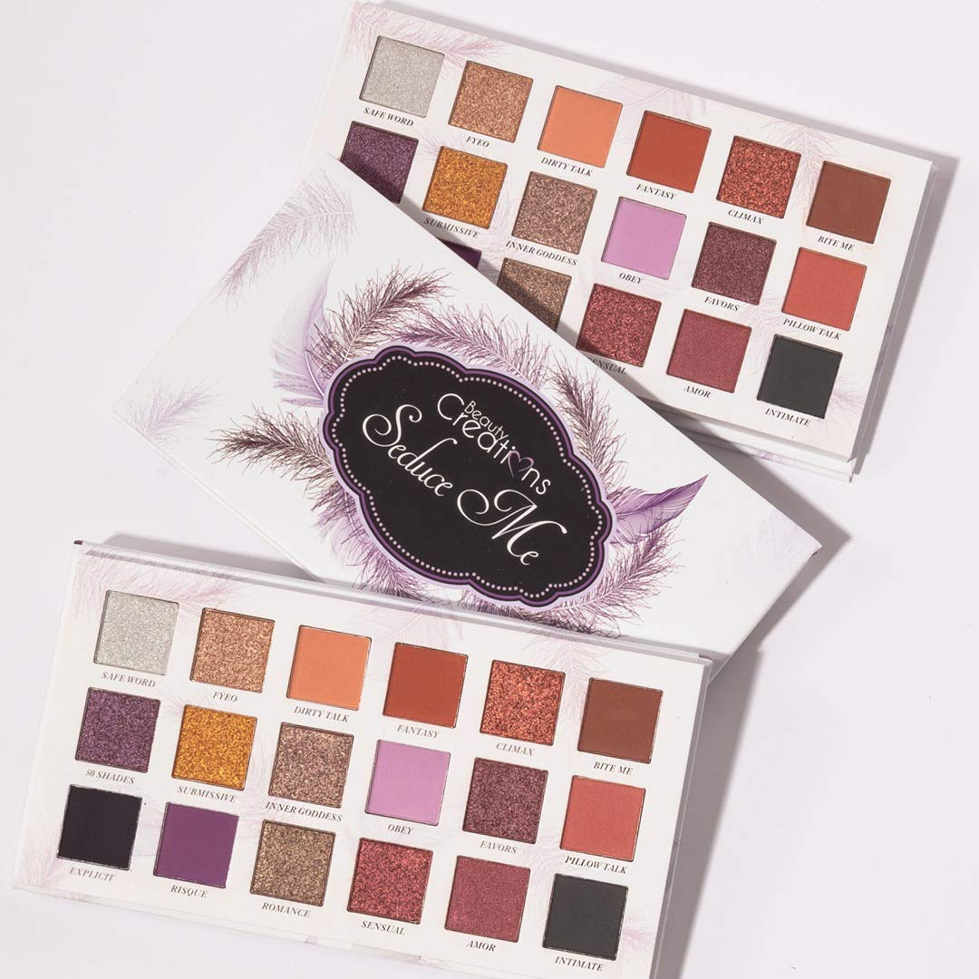 Beauty Creations Seduce Me 18 Max 65% OFF Very popular Eyeshadow Palette Colors