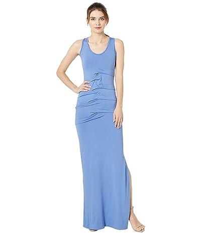 Nicole Miller Simple Maxi Dress (Harbor Blue) Women