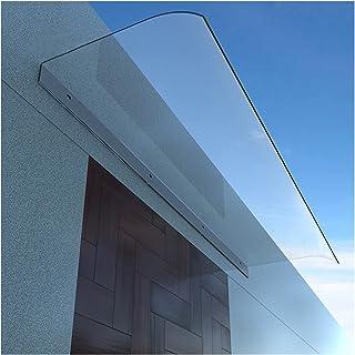 庇 ひさし雨よけ、屋根庇 ひさし雨よけ ポーチオーバーヘッドキャノピー 屋根葺き団体 屋外ガーデンシェーシター ポリカーボネートシート 紫外線保護 完璧な装飾 MAHFEI (Color : Clear-A, Size : 40x80cm)