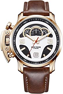 Reef Tiger Designer Sport Watches Chronograph Water Resistant Analog Watches relogio Masculino RGA2105