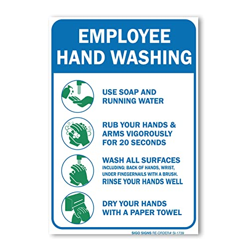 photograph about Free Printable Hand Washing Posters named Hand Washing Indicator: