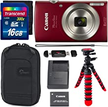 Canon PowerShot ELPH 180 Digital Camera with is and Smart...