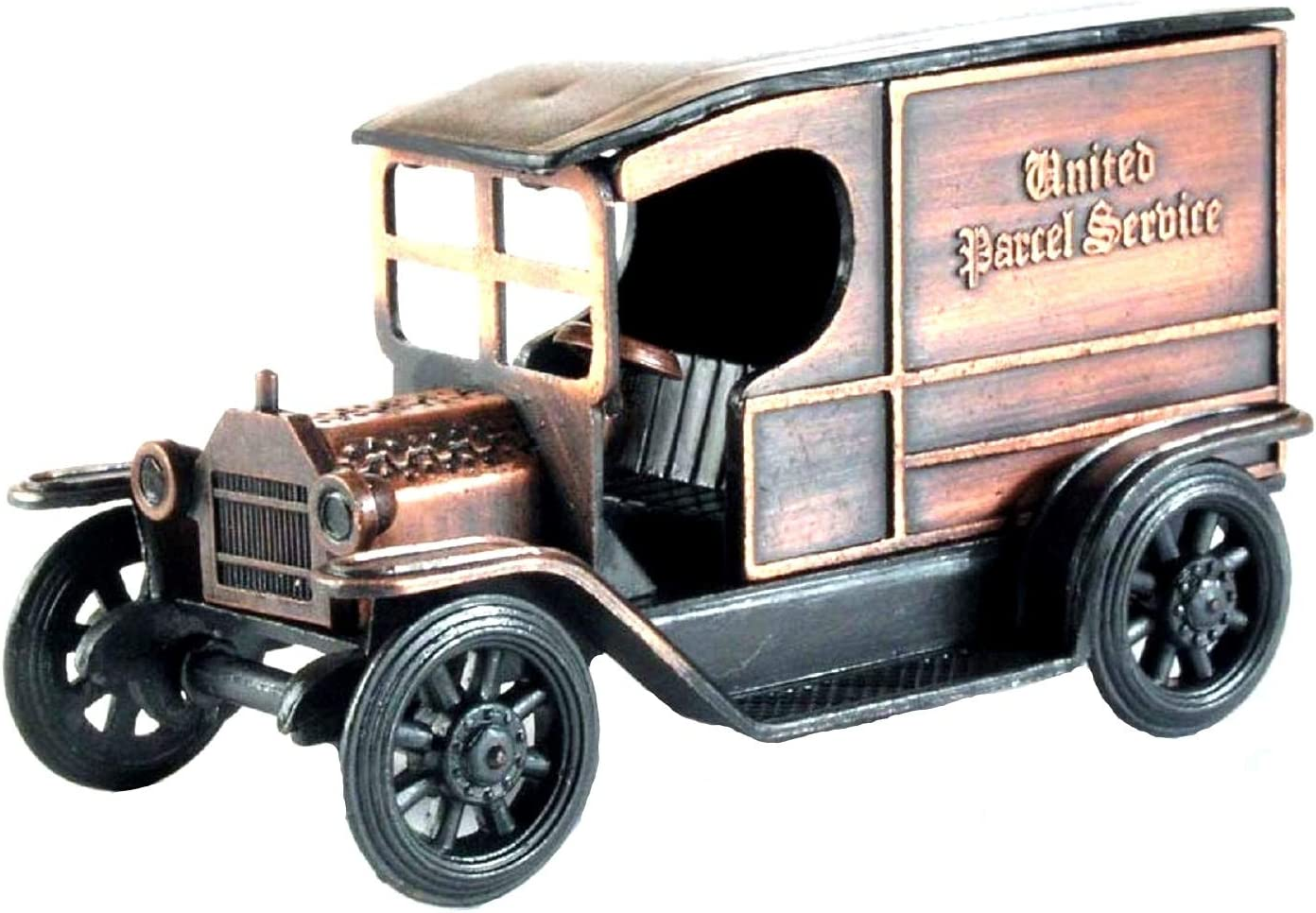 Old Time UPS Delivery Truck Die Metal Max 51% OFF Pencil Free shipping / New Cast Sh Collectible