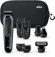 Braun Hair Clippers for Men MGK3980, 9-in-1 Beard Trimmer, Ear and Nose Trimmer, Body Groomer, Detail Trimmer, Cordless & ...
