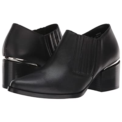 Steve Madden Korral Bootie (Black Leather) Women
