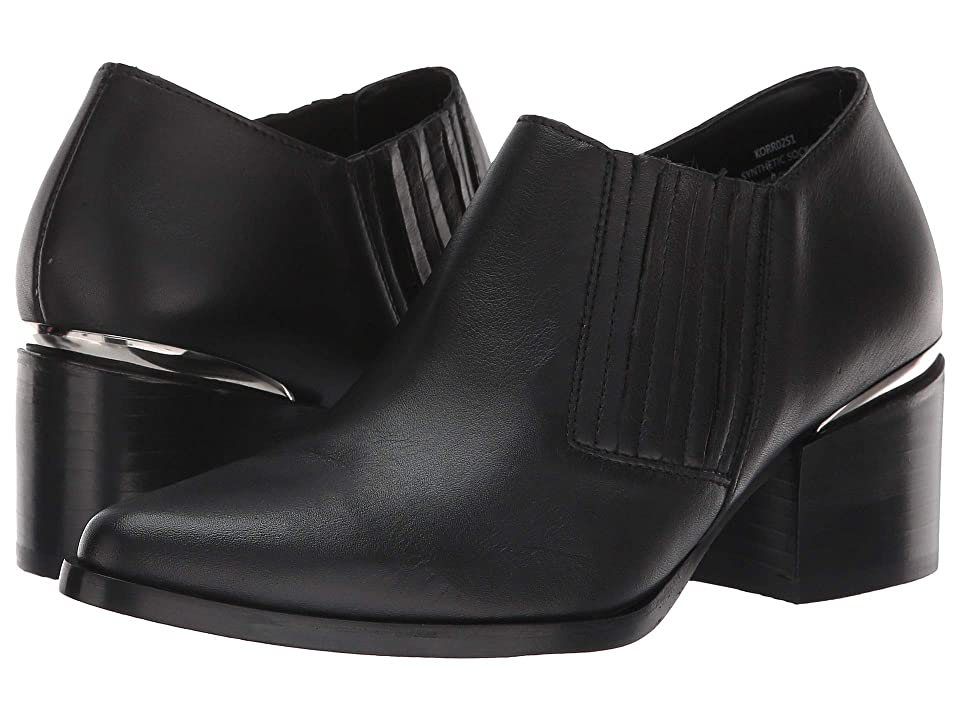 Steve Madden Korral Bootie (Black Leather) Women