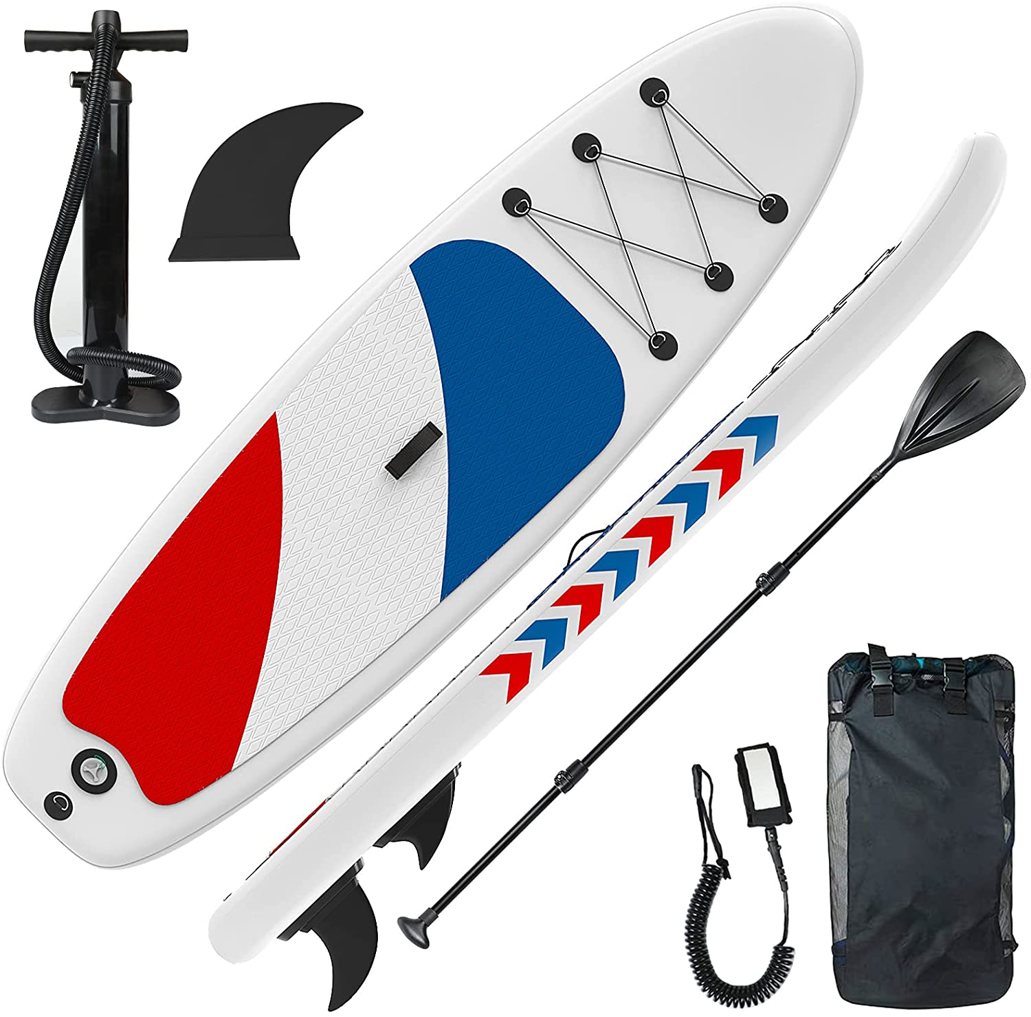 Gruper Inflatable Stand Up Paddle Boards Layers Air 3 Import Gifts with Anti