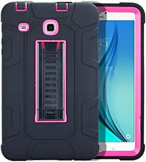 FastSun Samsung Galaxy Tab A 10.1 Case, Heavy Duty Military Hybrid Rugged Shockproof Rubber Hard Armor Protection Case wit...
