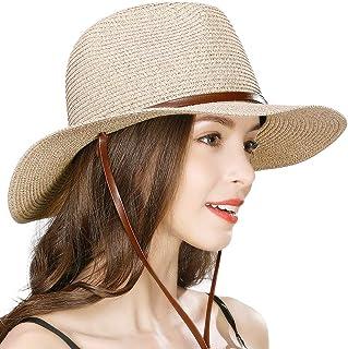 (シッギ) Siggi 通気性に優れる麦わら帽子 小顔効果中折れハット 男女兼用