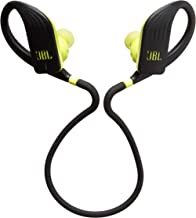 JBL Endurance Jump, Wireless in-Ear Sport Headphone with One-Button Mic/Remote - Yellow/Black