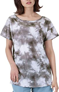 ICEPARDAL(アイスパーダル) 無地4色/柄9色 レディース ラッシュガード オーバーTシャツ カバーアップ UVカット UPF50 + IR-7400