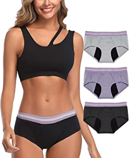 Intimate Portal Move-IT Light Absorbent Period Panties Leak Proof Underwear for Menstrual Incontinence