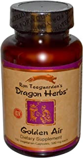 Dragon Herbs Golden Air 500 mg 100 Veggie Caps