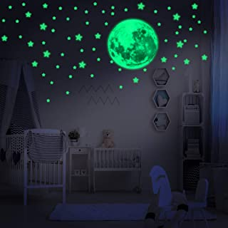 234 Assorted Glow in The Dark Stars Stickers with Full...