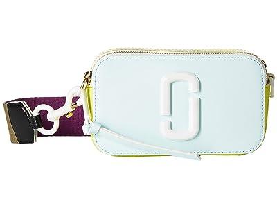 Marc Jacobs Snapshot Ceramic (Light Blue Multi) Handbags
