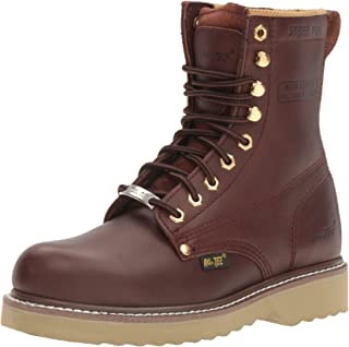 "حذاء عمل AdTec رجالي 1312 8"" Steel Toe Farm Redwood"