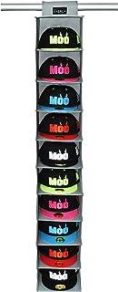 Soporte para gorras y gorras de béisbol - Soporte para colgar sombreros y armarios de 10 estantes para almacenamiento de sombreros - Organizadores para sombreros aptos para todo tipo de sombreros
