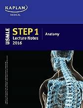 USMLE Step 1 Lecture Notes 2016: Anatomy (Kaplan Test Prep)