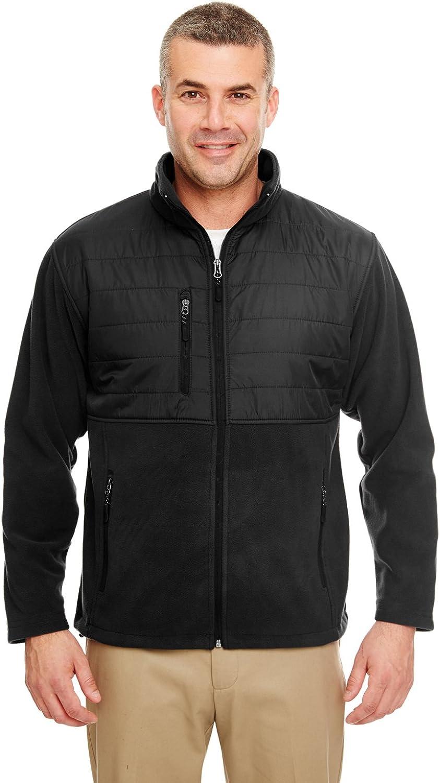 UltraClub Adult Water-Resistant Zipper Fleece Jacket