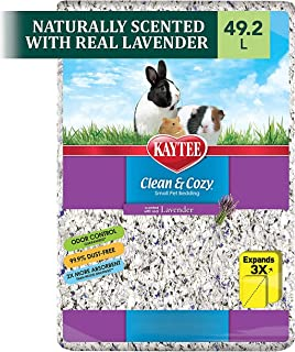 Kaytee Clean and Cozy Bedding, Lavender, 1000-Cubic Inch