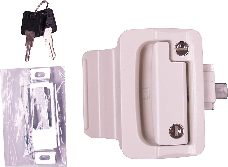 Special price FASTEC 44610-09-SP White RV Ranking TOP14 Door Lock