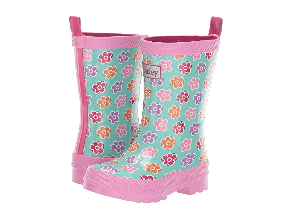 Hatley Kids Limited Edition Rain Boots (Toddler/Little Kid) (Flower Sketches) Girls Shoes