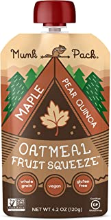 Oatmeal Fruit Squeeze (Maple Pear Quinoa, 12 Pack)