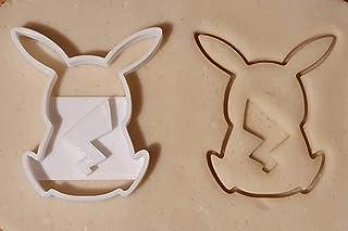 Tagliabiscotti a forma di Pikachu, personaggio dei Pokemon
