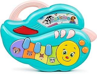 Bambiya Mini Keyboard Piano Happy Caterpillar - Piano Toy fo