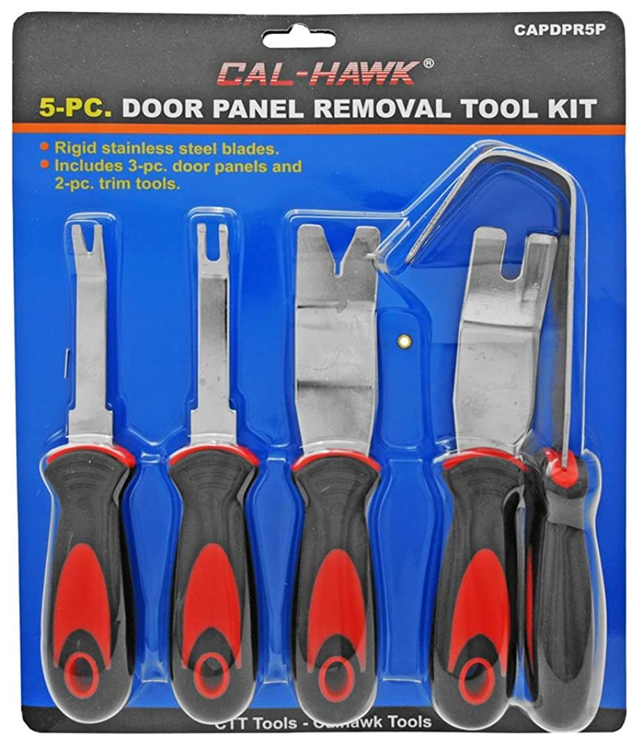 5Pc Stainless Steel Auto Trim Door Panel Molding Removal Tool Kit
