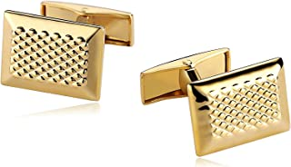 Aooaz 5 Styles Mens Stainless Steel Cufflinks 2Pcs, Novelty Cufflinks, Dad Unique Jewelry Box Charm Mh74