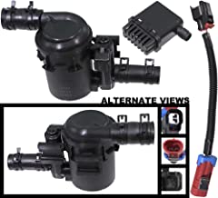 APDTY 022100 Fuel Tank Vapor Emission Canister Vent Solenoid Filter Kit Mounts Under Vehicle Near Gas Tank Fits 07-15 Chevrolet Silverado & GMC Sierra Pickup w/Gas Engine (Replaces 15114374, 23103351)