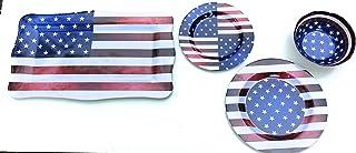 Nicole Home Collection Melamine Patriotic Bundle