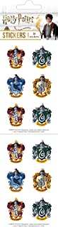 Playhouse Harry Potter Houses of Hogwarts Crests Pack of Three Perforated Sticker Sheets