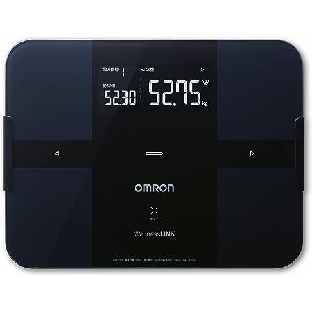 オムロン 体重・体組成計 カラダスキャン ブラック HBF-252F-BK
