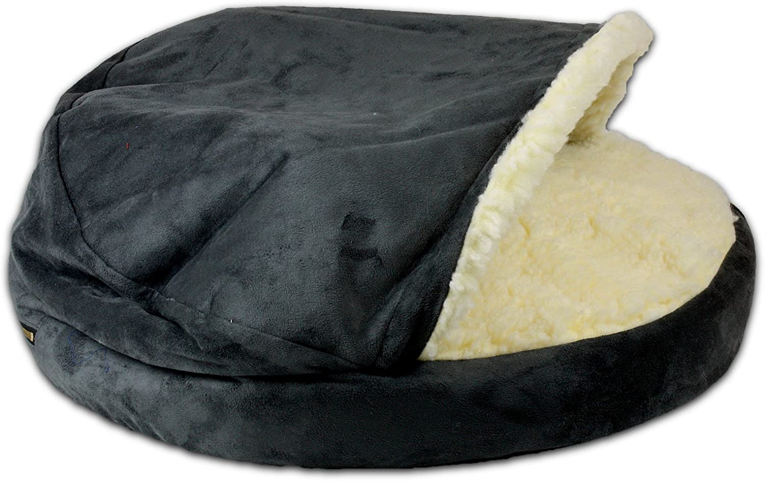 Snoozer 87572 Piccolo Lusury Ortopedia Cozy Cave Pet Bed, Anthracite