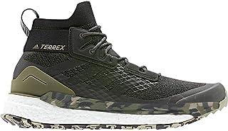 adidas outdoor Men's Terrex Free Hiker Raw Khaki/Black/St. Desert Sand 10 D US