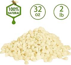 YIHAN White Beeswax Pellets, Organic, 2 LB