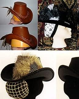 Women's Elizabethan Arched Brim Tall Hat Pattern