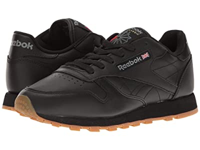 Reebok Lifestyle Classic Leather (Black/Gum) Women