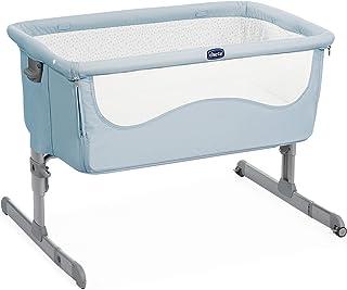 Chicco Next2me - Cuna de colecho con anclaje a cama y 6 alturas, color azul (Ocean)